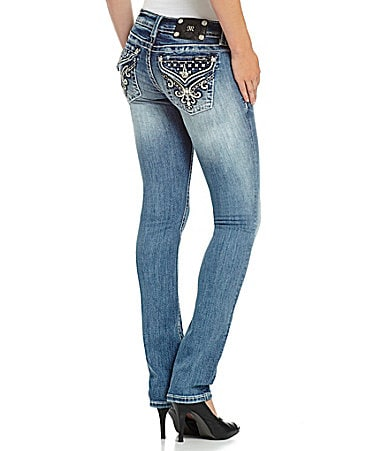 Miss Me Straight-Leg Jeans