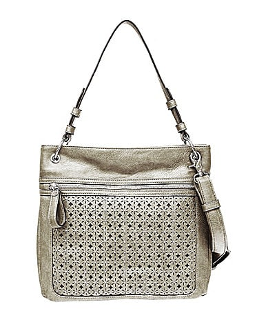 Jessica Simpson Marina Perforated Cross-Body Bag