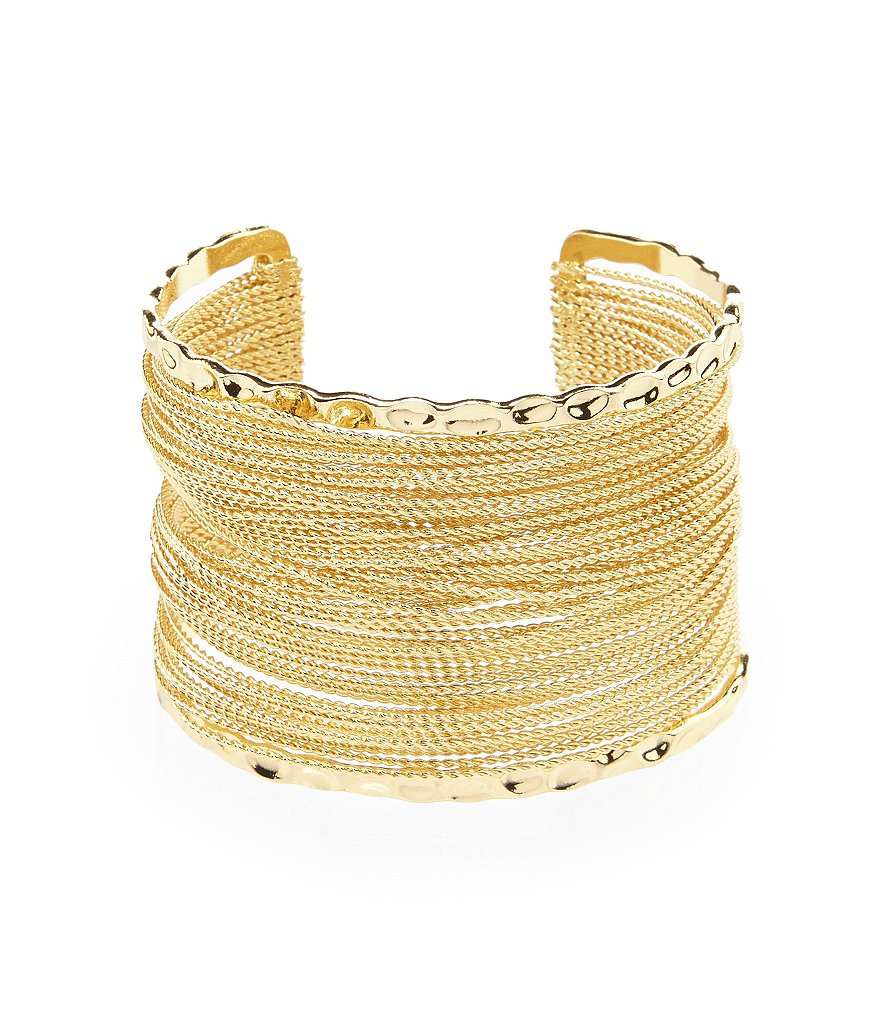 Anna & Ava Wire Layer Cuff Bracelet