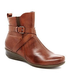 ECCO Abelone Cross Buckle Boots