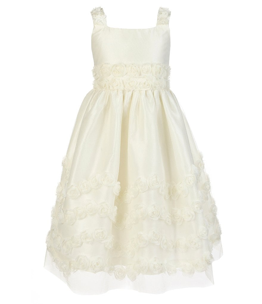 Jayne Copeland Big Girls 7-12 Rosette-Soutache Dress