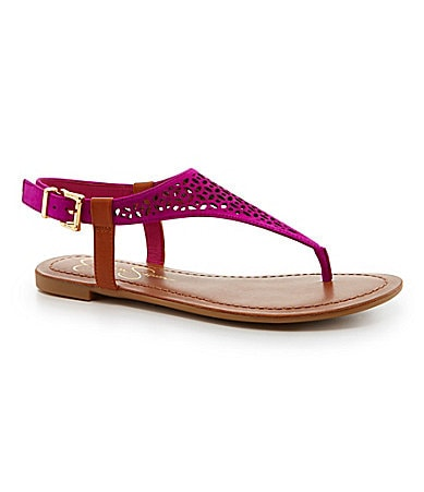 Jessica Simpson Grile Perforated Sandals