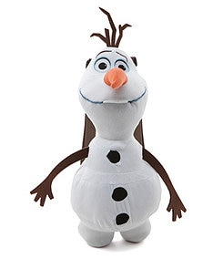 Disney Frozen Olaf Plush Backpack