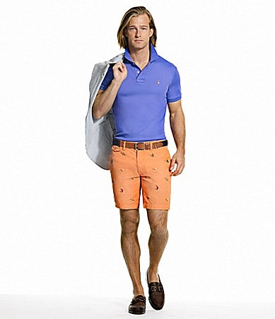 Polo Ralph Lauren Classic-Fit Pima Soft-Touch Polo Shirt and Greenwich Embroidered Short