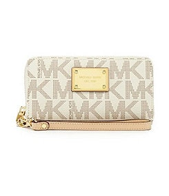 MICHAEL Michael Kors Signature Jet Set Large Coin Multifunction Case