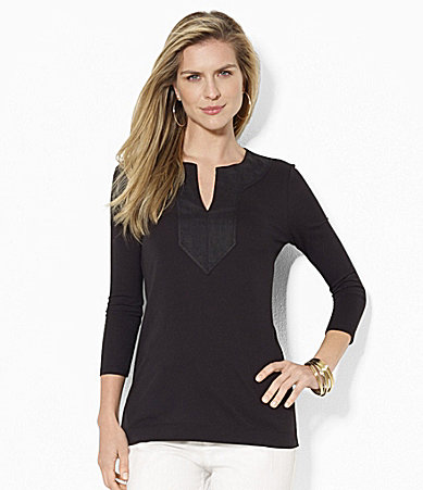 Lauren Ralph Lauren Cotton Tunic