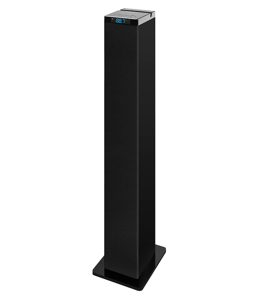 Innovative Technology Bluetooth Tower Stereo with Piano Finish