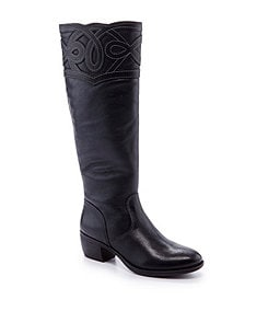 Nurture Jazelle Overlay Tall Boots
