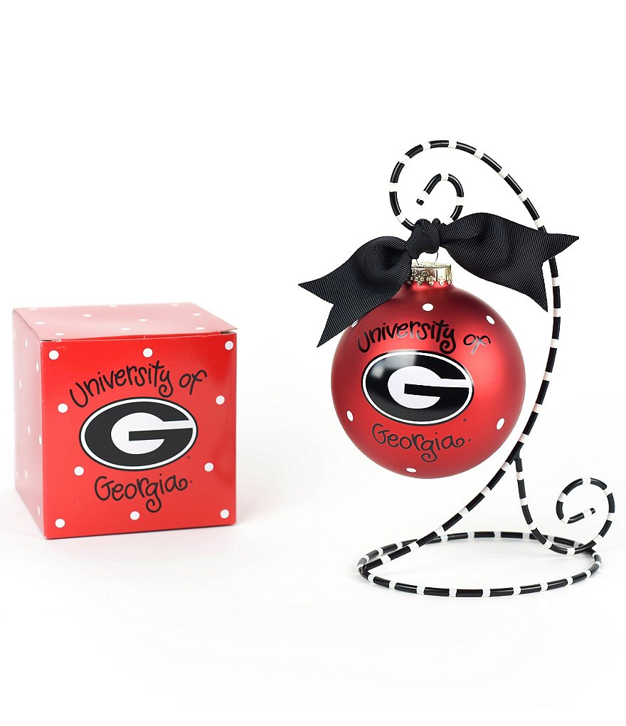 Coton Colors University of Georgia Logo Ornament