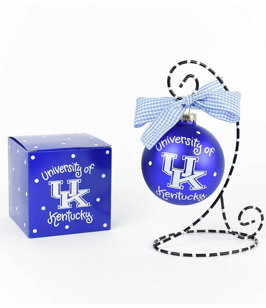 Coton Colors University of Kentucky Logo Ornament