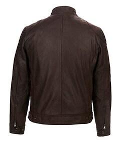 Michael Kors Clear Creek Nubuck Leather Jacket