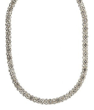 Anne Klein Pavé Crystal Collar Necklace