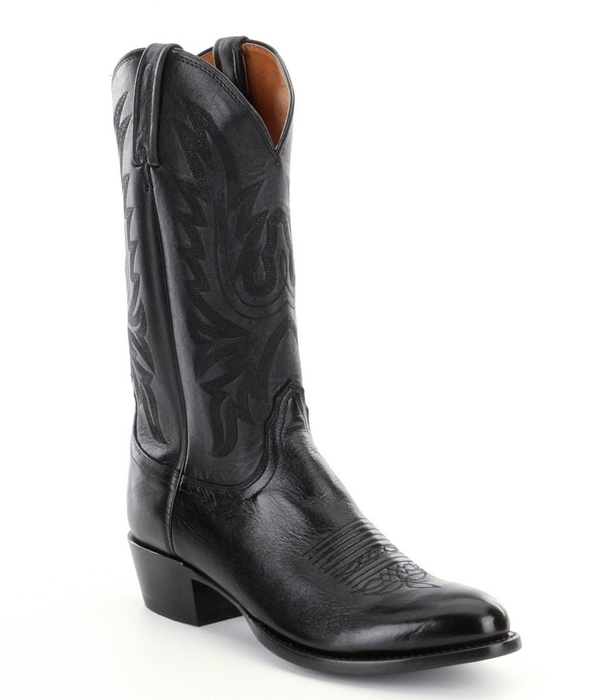 Lucchese Since 1883 Lone Star Calf Western Boots