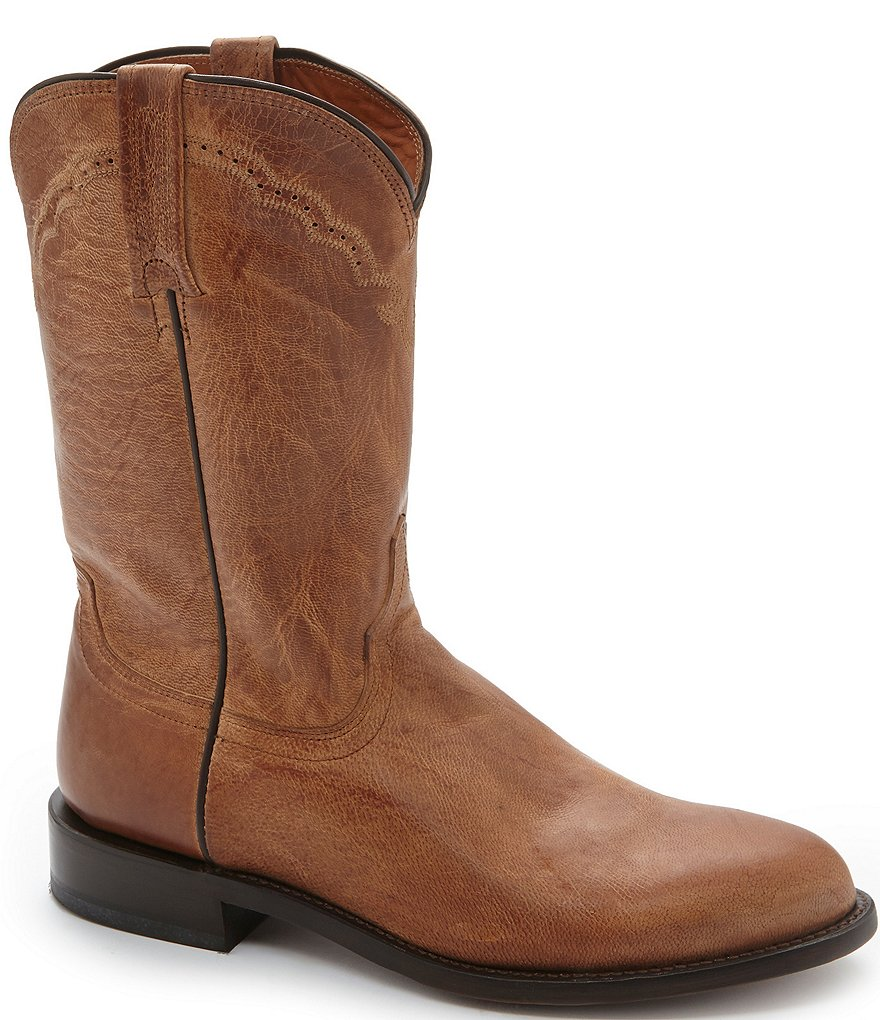 Lucchese Since 1883 Mad Dog Goat Roper Western Boots