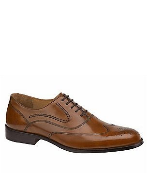 Johnston & Murphy Stratton Wingtip Oxfords