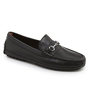 Cole Haan Grant Canoe Leather Bit Loafers