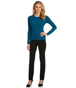 Antonio Melani Coco Cable Cashmere Sweater