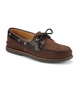 Sperry Top-Sider Men' s Gold A/O 2-Eye Boat Shoes Image