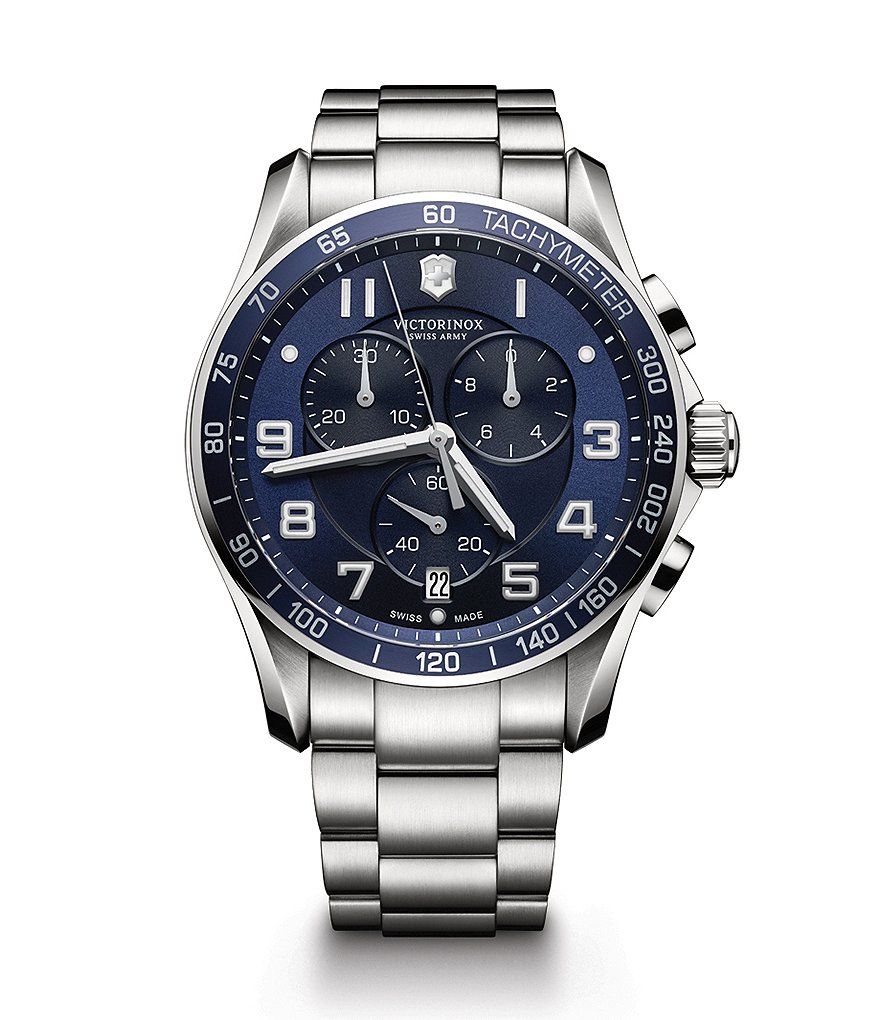 Victorinox Swiss Army Chrono Classic XLS Stainless Steel Watch