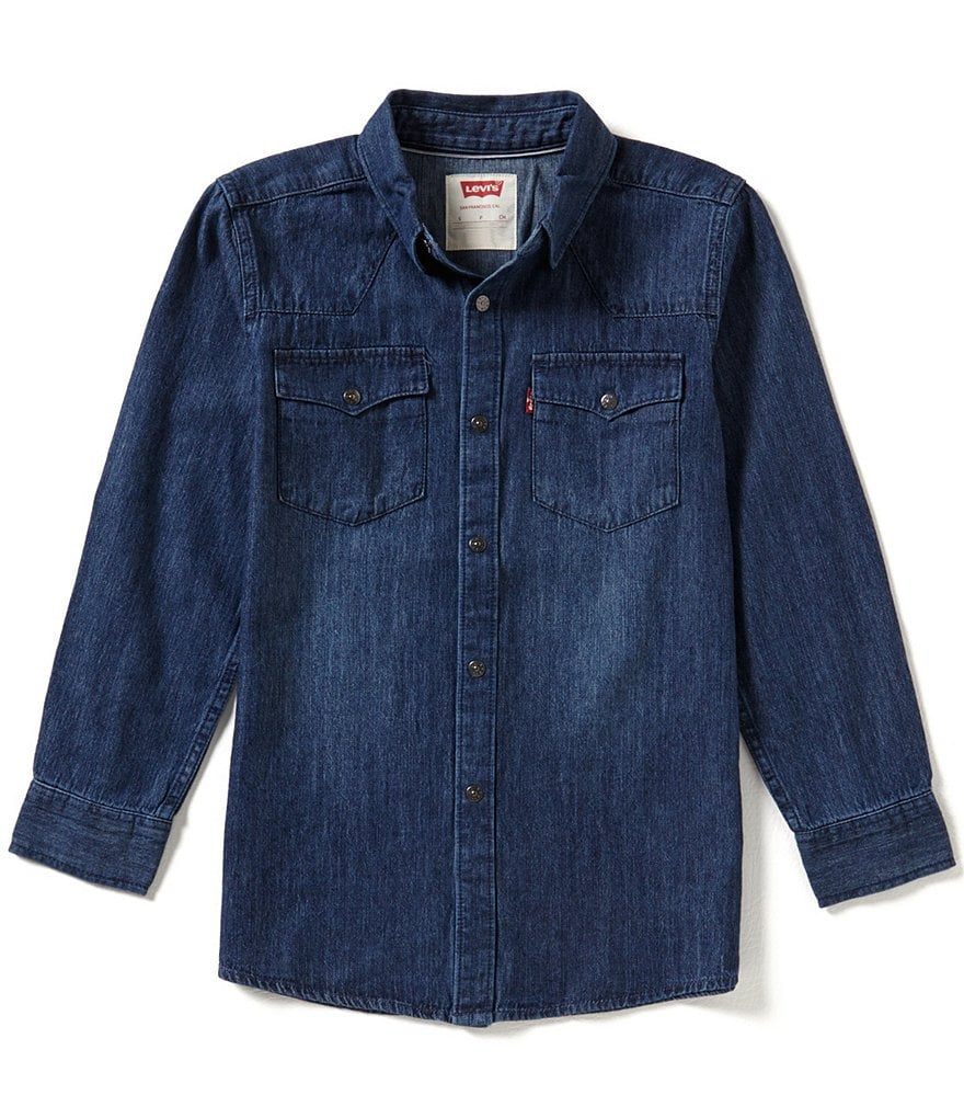 Levi's® 8-20 Barstow Western Shirt