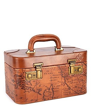 Patricia Nash Signature Map Collection Paradiso Train Case