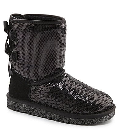 Ugg 174 australia girls bailey bow sparkle sequin boots dillards com