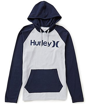 Hurley One & Only Raglan Jersey Hoodie