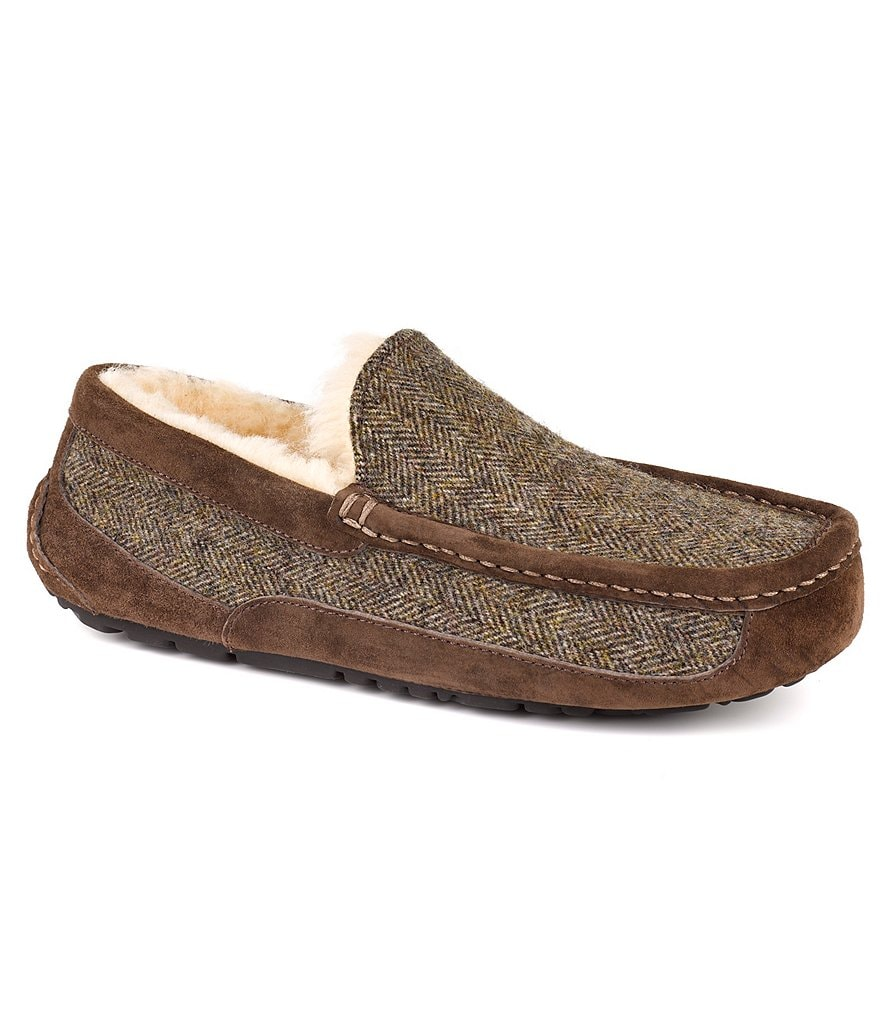 UGG® Men's Ascot Tweed Slippers