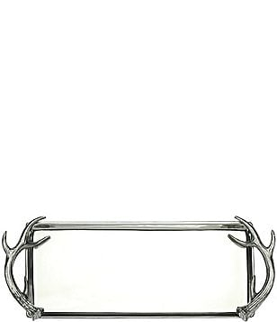 Arthur Court Antler Rectangular Tray