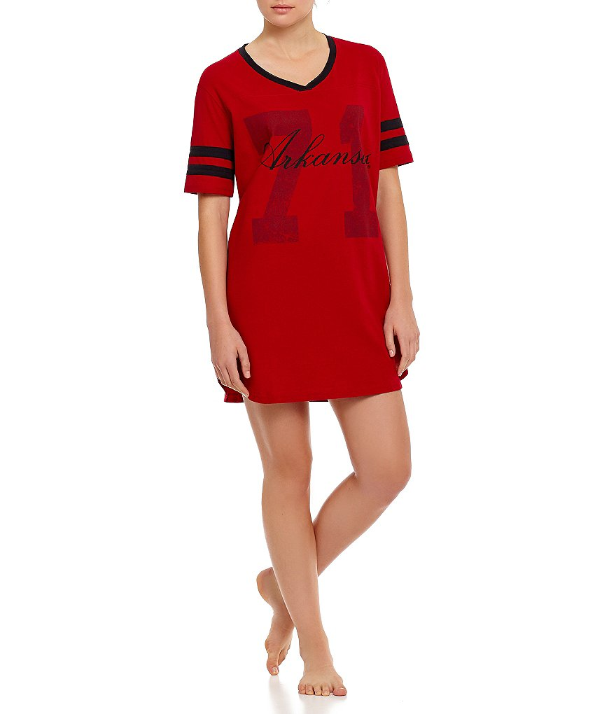 Emerson Street University of Arkansas Script Sleepshirt