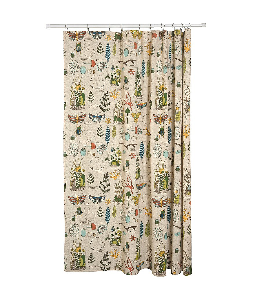 Danica Studio Ephemera Shower Curtain