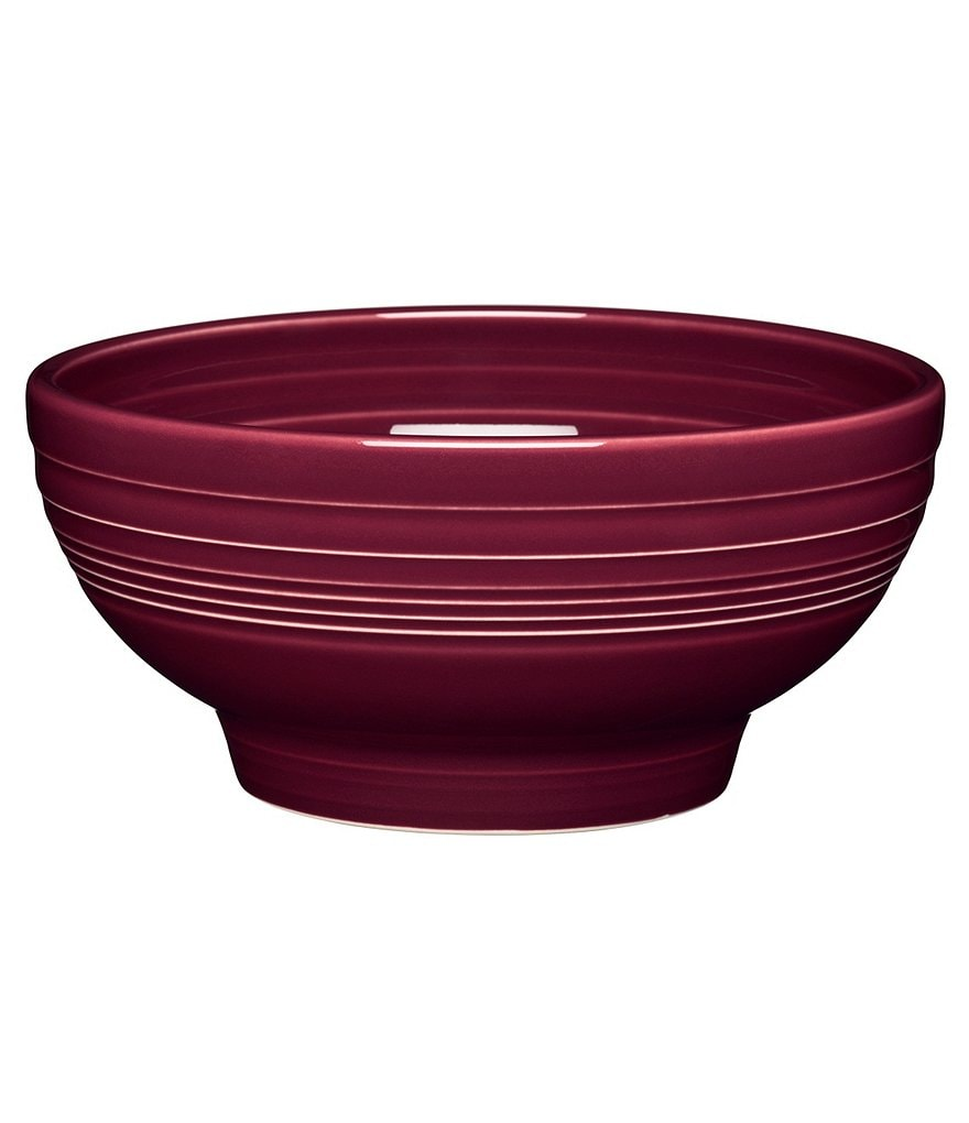 Fiesta Footed Ceramic Bowl