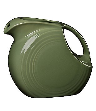 Fiesta Large Disk Ceramic Pitcher