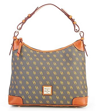 Dooney & Bourke Greta Signature Print Hobo Bag