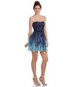 Teeze Me Ombre Corkscrew Party Dress