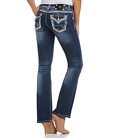 Miss Me Relaxed-Fit Bootcut Jeans