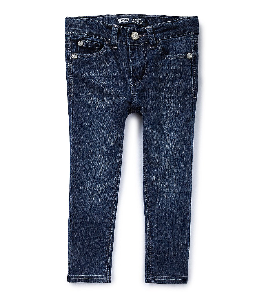 Levi´s® Little Girls 2T-6X Star-Pocket Denim Leggings