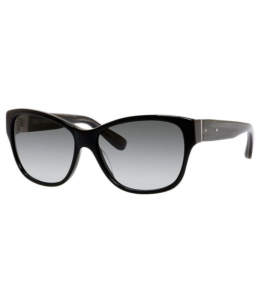 Bobbi Brown The Everon Oversized Classic Retro Rectangle Sunglasses