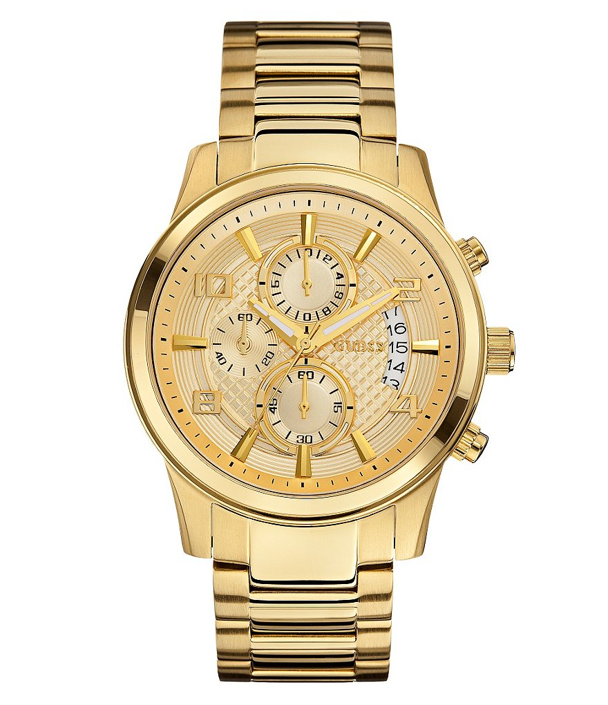 Guess Men´s Masculine Retro Chronograph Dress Watch