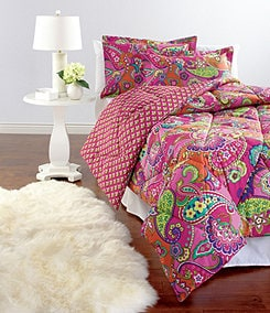 Vera Bradley Pink Swirls Bedding Collection