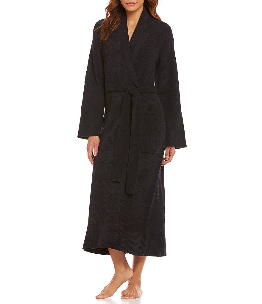 N by Natori Ribbed Chenille Robe