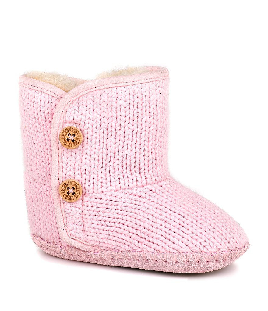 UGG® Purl Sweater Crib Shoes