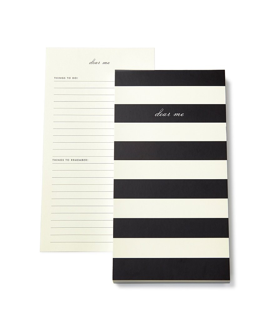 kate spade new york Dear Me Striped To-Do List Notepad