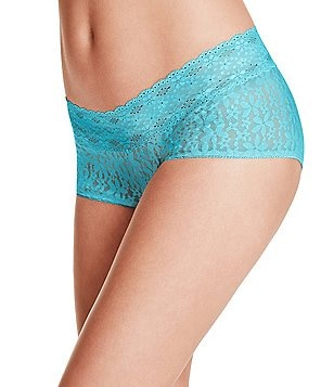Wacoal Halo Floral Lace Boy Short Panty