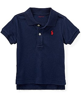 Ralph Lauren Childrenswear Baby Boys 9-24 Months Interlock Polo Shirt Image