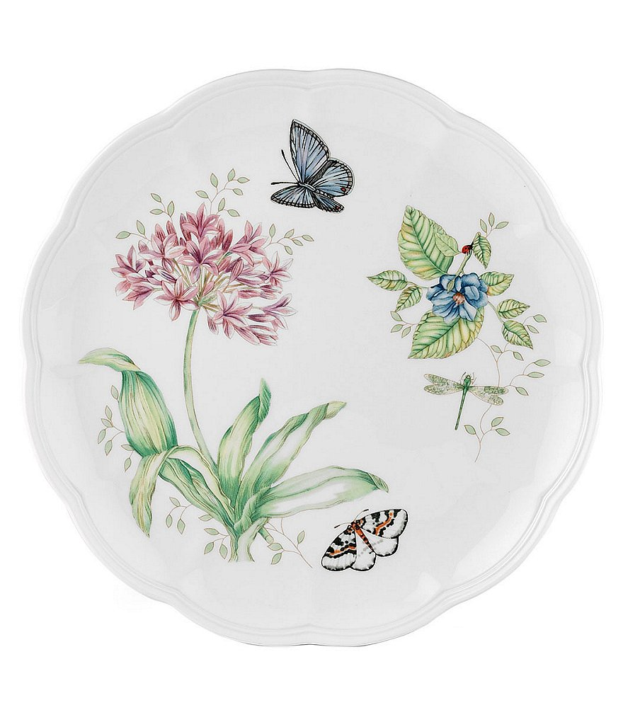 Lenox Butterfly Meadow Porcelain Dinner Plate