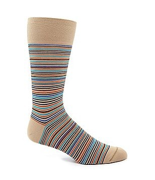 Johnston & Murphy Mini-Stripe Sock