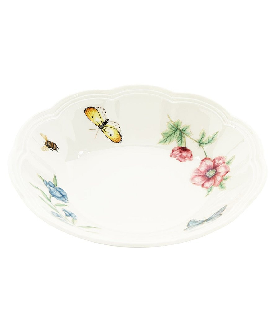 Lenox Butterfly Meadow Porcelain Fruit Bowl