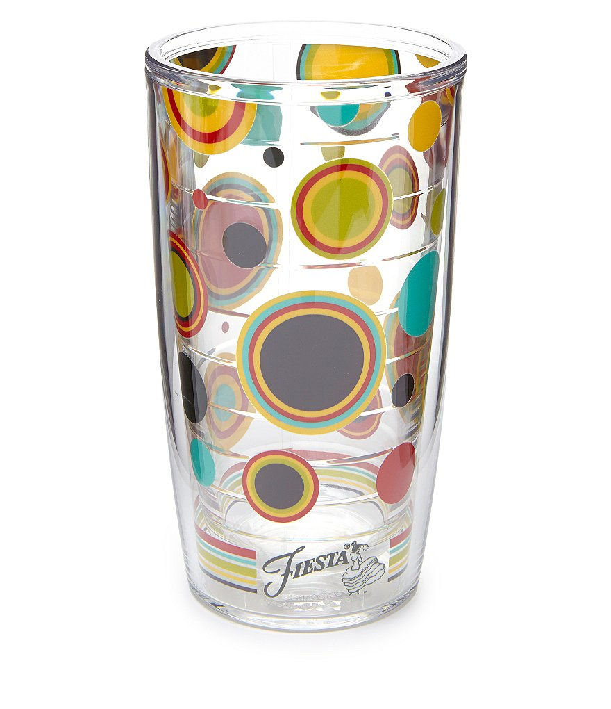 Tervis Tumblers Fiesta Dot Double-Walled Tumbler
