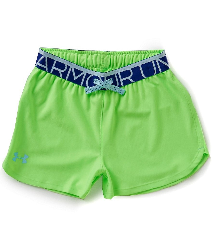 Under Armour Big Girls 7-16 Play-Up Shorts